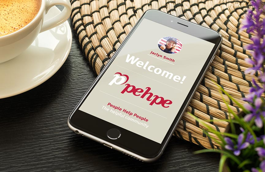 Pehpe – The helpful community